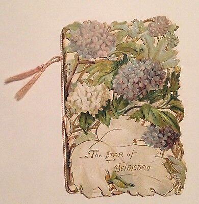 Raphael Tuck & Sons Victorian Die Cut Booklet The Star of Bethlehem Germany