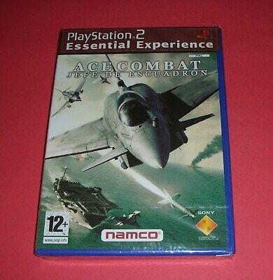 Ace Combat: Jefe de Escuadrón PLAYSTATION 2 PAL . VIDEOJUEGO PRECINTADO