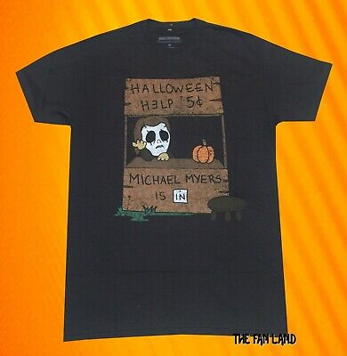 New Halloween Help Michael Myers Mens Vintage Classic T-shirt - Mens Halloween Tee Shirts