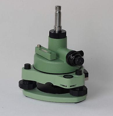 New Leica Green Tribrach Adapter Woptical Plummet Fits Leica Type Prisms