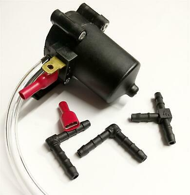 Windscreen Wiper Water Transfer Pipetube & Pump 12V Washer Kit For Vehicles