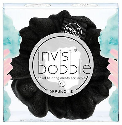 Invisibobble Sprunchie Spiral Hair Scrunchy Ring Scrunchie True Black