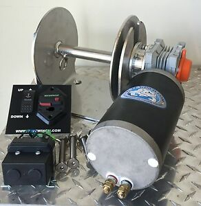 Electric Anchor Winch DRUM WINCH Australian Made