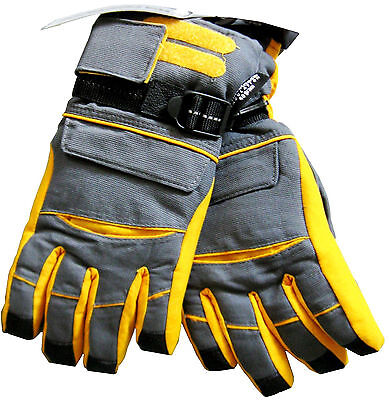 Athletic Works Boy's Gloves 3M Thinsulate 40 Gram Waterproof Size (16-18)