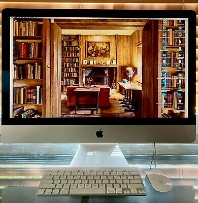 Apple iMac Retina 5K 27-inch, Late 2014 3.2GHz Quad-Core i5 8GB RAM 1TB fusion.