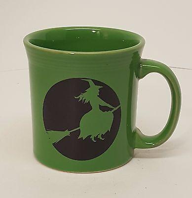 Fiestaware Shamrock Witch Java Mug Fiesta Halloween Decal coffee cup NWT](Fiesta Halloween)