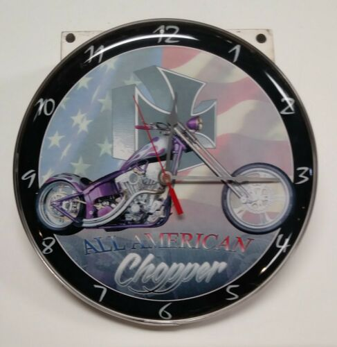 """All American Chopper"" Wall Clock"