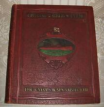 LARGE ANTIQUE 1930-31 OSAKA SHOSEN KAISHA OFFICIAL SHIPPERS GUIDE Colonel Light Gardens Mitcham Area Preview