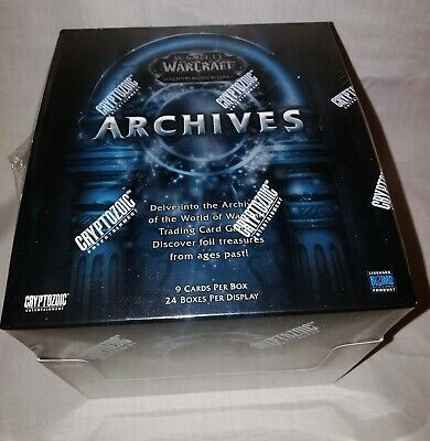 World of Warcraft TCG WoW Trading Card Game Archives Booster Box 24 Packs
