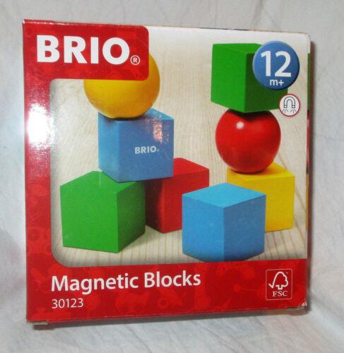 Brio Magnetic Blocks Set 30123 NEW