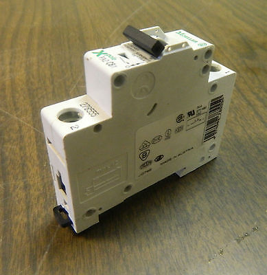 Klockner Moeller Circuit Breaker,  FAZ-C2/1, 1 Pole, USED, WARRANTY
