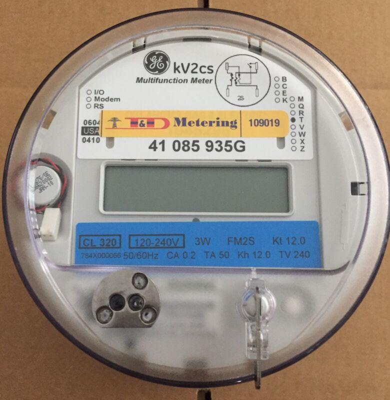 GE I-120+ce Itron SSI 1210 1x Wireless Smart Watthour Meter CL200 240V 3W FM2S