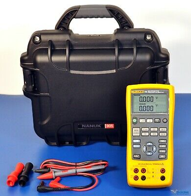 Fluke 725 Multifunction Process Calibrator - Nist Calibrated With Data Warranty