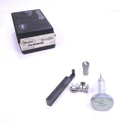 Mahr Martest 801v 0-15-0 Vertical Dial Test Indicator Kit .0005 Grad -.015