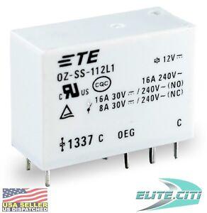 TE Connectivity Potter & Brumfield OZ-SS-112L1-12VDC OZ-SS-112L1 12VDC TE Relay