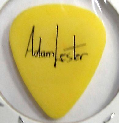 PETER FRAMPTON Adam Lester 2013 Circus Tour signature Guitar Pick YELLOW