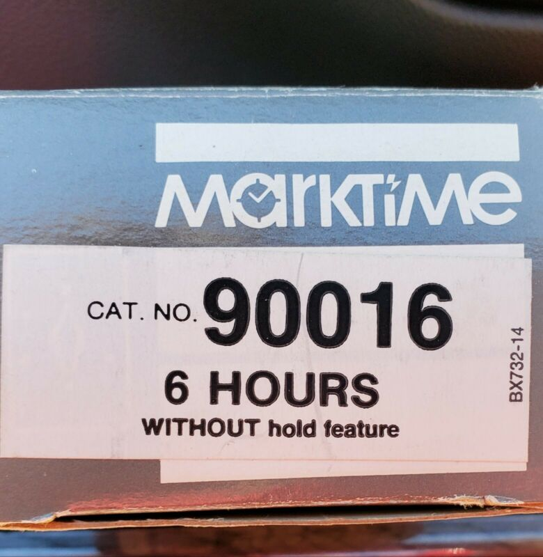 New Marktime 90016 Wall Box Time Switch