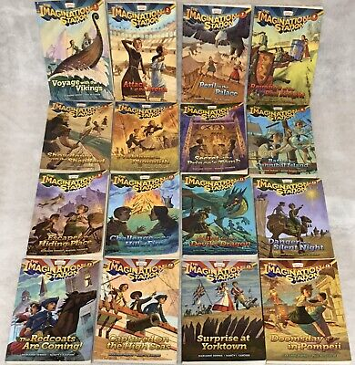 Imagination Station Books Set of 16 Paperback Adventures in Odyssey 1-16