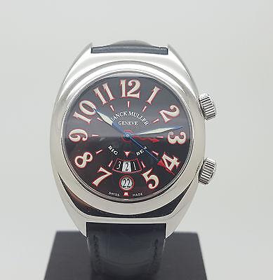 Authentic S.S Frank Muller Transamerica 2000 Big Ben Alarm GMT Automatic Watch