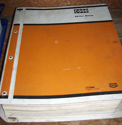 Case W36 Articulated Front End Wheel Loader Repair Service Manual 9-66873  536