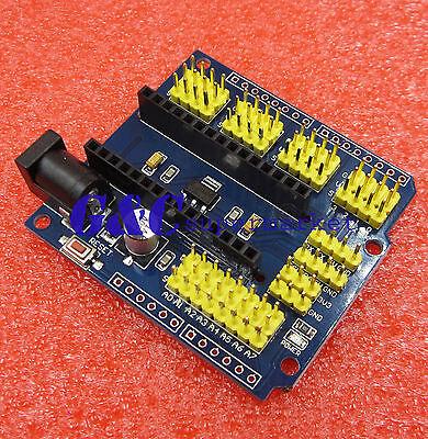 NANO I / O Expansion sensor Shield Module for Arduino UNO R3 Nano V3.0 M35