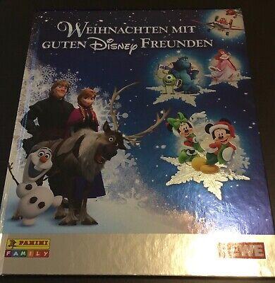 hnachten mit guten Disney Freunden Komplett beklebt  (Weihnachten Sammelalbum)