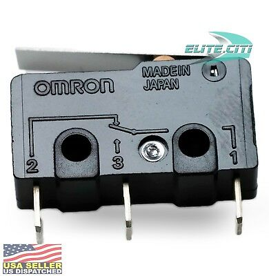Omron Micro Switch Ss-10gl Micro Switch Hinge Lever Spdt 10a Ac 4a Dc