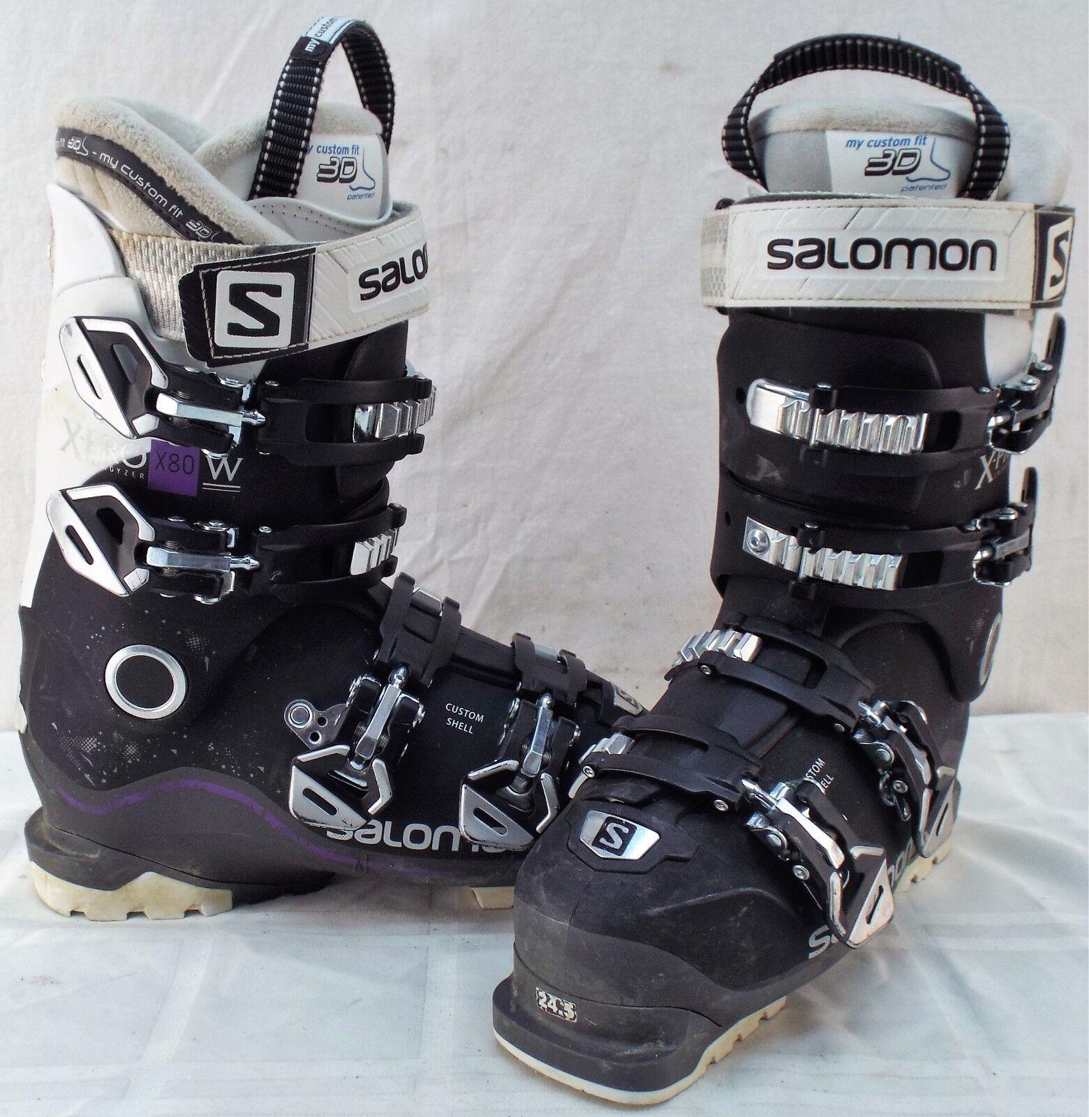 Salomon QST Pro 90 Men/'s Ski Boots Reg$400 NEW 2018