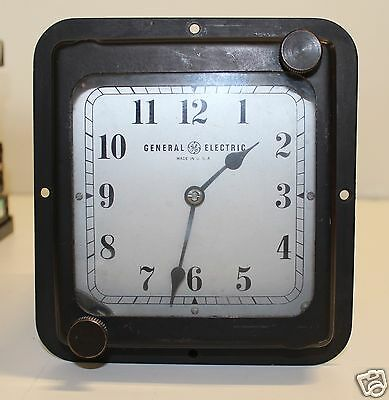 GE GENERAL ELECTRIC TYPE C-16 C16 INDUSTRIAL HARD-WIRED CLOCK 120V