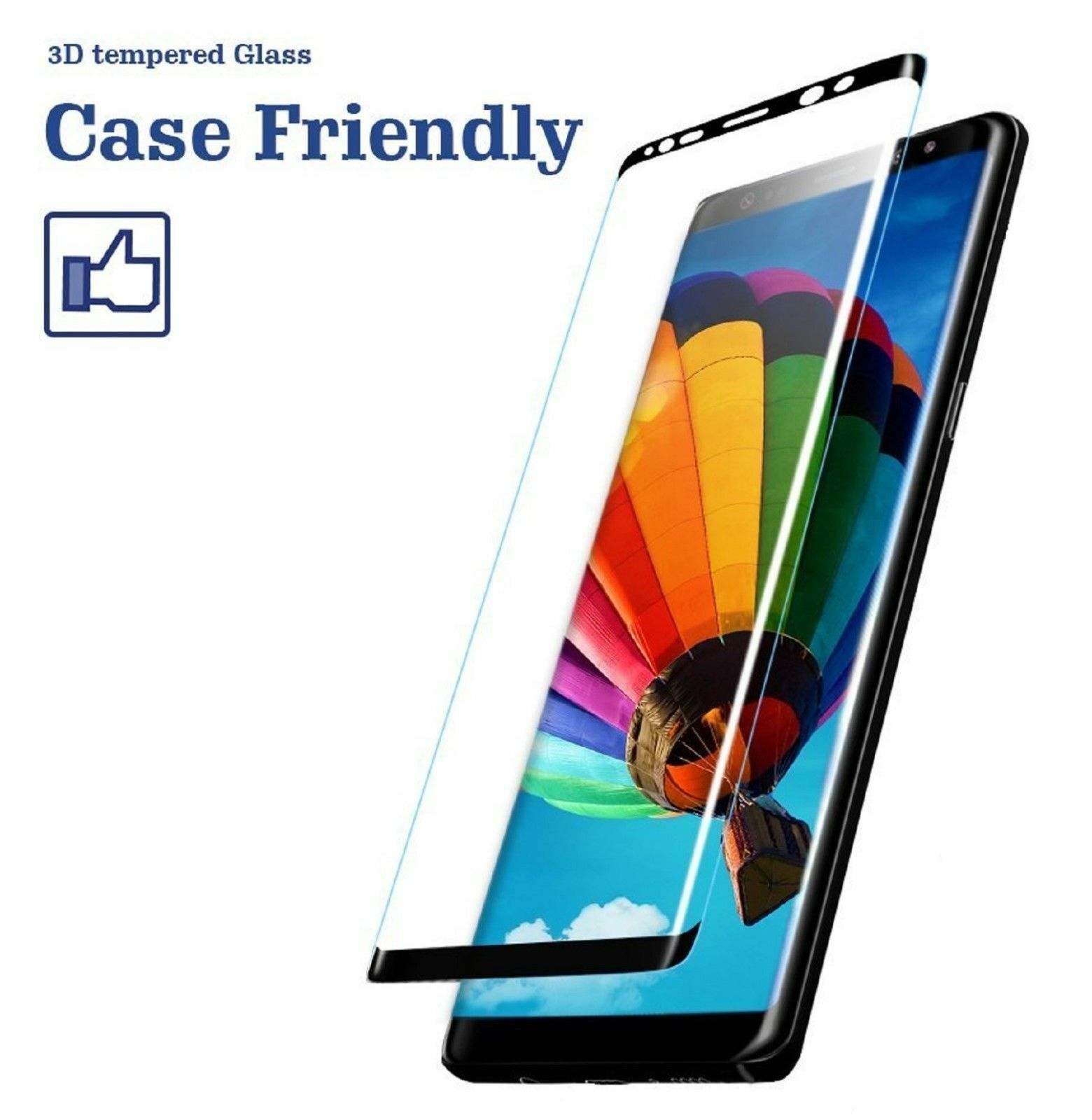 Купить Pro Glass+ - Samsung Galaxy S9 S8 Plus Note 8 9 4D Full Cover Tempered Glass Screen Protector