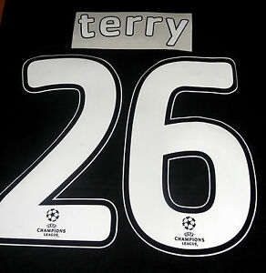 Chelsea-Terry-26-2007-08-Uefa-Champions-League-Final-Football-Shirt-Name-Set