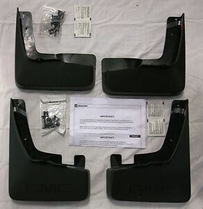 splash guards mud flaps for gmc terrain ebay. Black Bedroom Furniture Sets. Home Design Ideas
