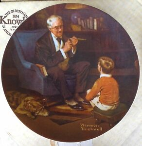 Bradford Exchange Norman Rockwell Collector Plates Strathcona County Edmonton Area image 9
