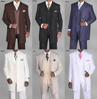 3 Piece Zoot Suit - Men's unique designed, zoot suit,3 piece with matching vest  Style 3106v
