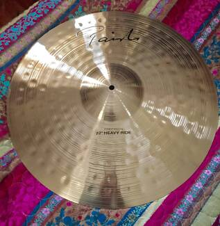 "Paiste Signature Precision 22 "" Heavy Ride Cymbal NEW"
