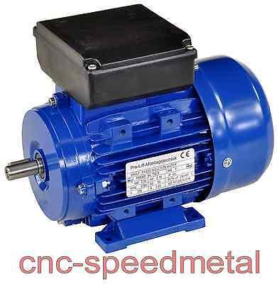 550W Elektromotor 220V 2790U/min Paßfeder 5mm IP55 B3-Ausführung 0,55kW 00386