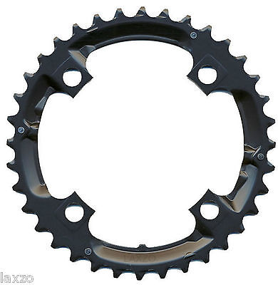 Shimano 32T 9-Speed Chainring Black for Deore FC-M590 /  FC-M591 Crank 104mm BCD
