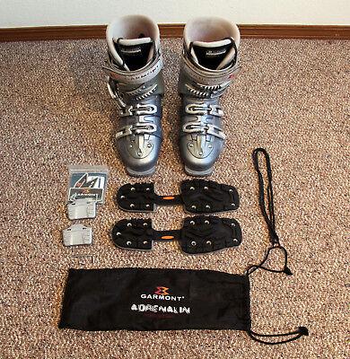 (Garmont Xena Women's Alpine Touring Ski Boots US Size 8.0 / Mondo 25.5 NICE)