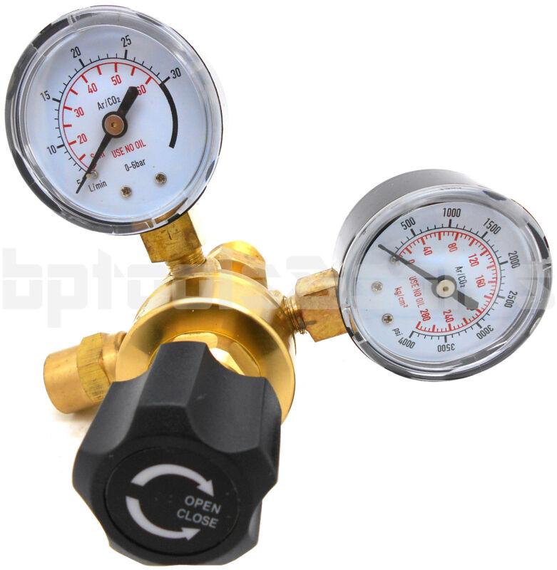 Argon CO2 Brass Regulators Gauges for Welding CGA580 Miller Lincoln Mig Tig
