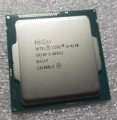 Intel Core i3-4310 3.4GHz Dual-Core SR1NP CPU Processor Socket 1150 Haswell