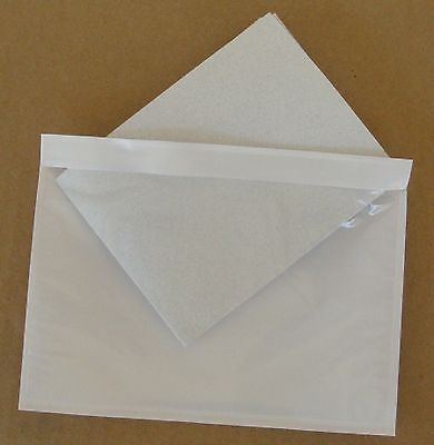 7.5 X 5.5 Clear Adhesive Packing List Shipping Label Envelopes Pouches 300 Pcs