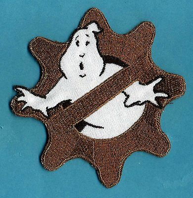 Steampunk Style Embroidered Ghostbusters No Ghost Patch with a male/HOOK backing](Steampunk Fashion Male)