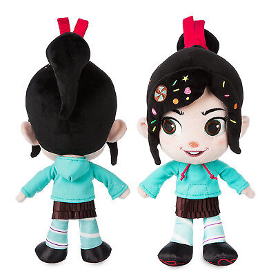 "13"" Disney Store Vanellope Von Schweetz Plush Doll Ralph Breaks the Internet NWT, used for sale  Shipping to Canada"