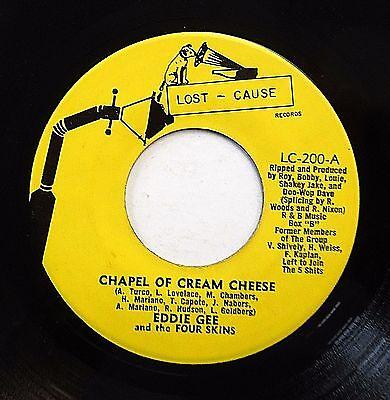 Usado, Eddie Gee & 4 Skins CD Música Novedad 45 Chapel Of Crema Queso Orig.lost Cause segunda mano  Embacar hacia Spain