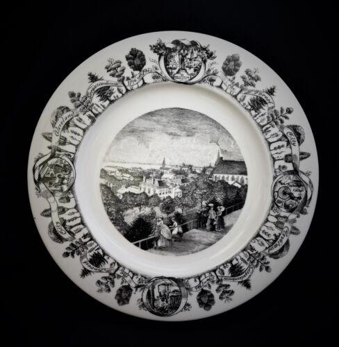Vintage Cleveland Ohio 1796 1946 Sesquicentennial Souvenir Commemorative Plate