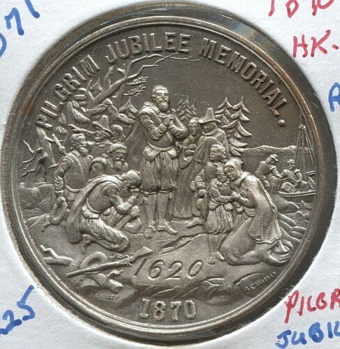 1870 MA - HK- 13 - SC$1 - R 5 - Pilgrim Jubilee Memorial - Lot #TT 2071