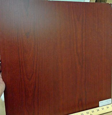 Cambridge Cherry (Melaface Pluswood Cambridge Cherry # 3111 MDF panel size 3/8