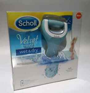 Scholl Velvet Smooth Wet & Dry Rechargeable Foot File BNIB Charlestown Lake Macquarie Area Preview