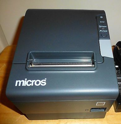 Micros Epson Tm-t88v M244a Pos Thermal Receipt Printer - Idnusb Port - Autocut
