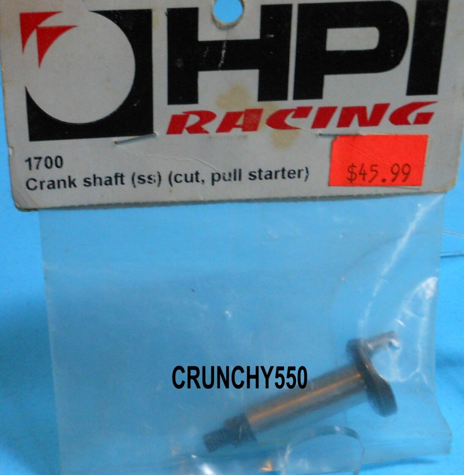 New Hpi Nitro Star T3.0 Crankshaft Standard Shaft 15151